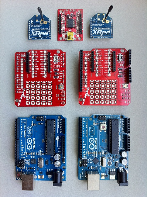 Getting started with arduino and xbee part the